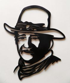 Hey, I found this really awesome Etsy listing at https://www.etsy.com/listing/108945458/john-wayne-cowboy-custom-metal-sign