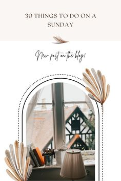 Make your Sunday happier, more organised and full of joy Lifestyle Blog, Things To Do, Sunday, Relax, Joy, Make It Yourself, Tips, Home Decor, Things To Make