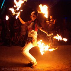 I'm going to get back into hoops and fire, in preparation for Burning Man (Whenever we get to go)