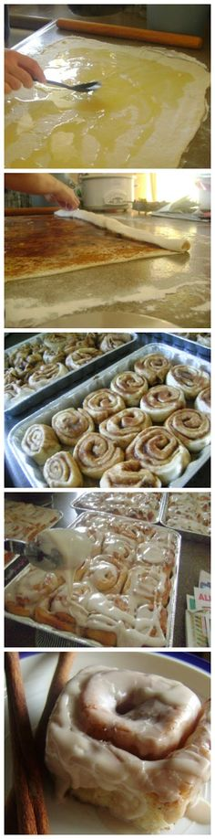 The Perfect Cinnamon Rolls. We need to make these. I have been craving a good cinnamon roll forever. @Stephanie Woodard