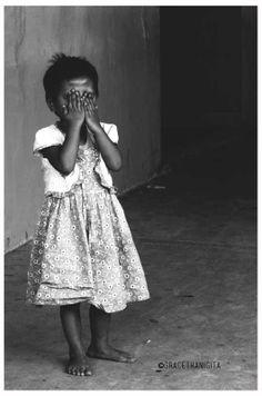shy little girl #indonesian girl