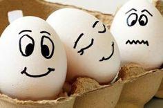 Ostereier mit Gesicht bemalen - 20 witzige Malideen für Ihre Osterdeko