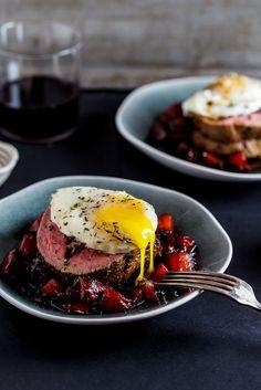 Biltong and parmesan stuffed beef fillet [ NYBiltong.com ] #biltong #recipe #flavor