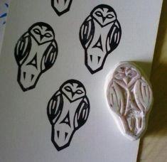 Owl stamp rubber stamp woodland animal forest by HVasilevShop Love Cards Handmade, Handmade Stamps, Handmade Greetings, Greeting Cards Handmade, Owl Crafts, Crafts For Kids, Owl Wedding, Thanks Card, Valentine Gifts