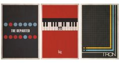 Minimalist Movie Posters - Entertainment - ShortList Magazine