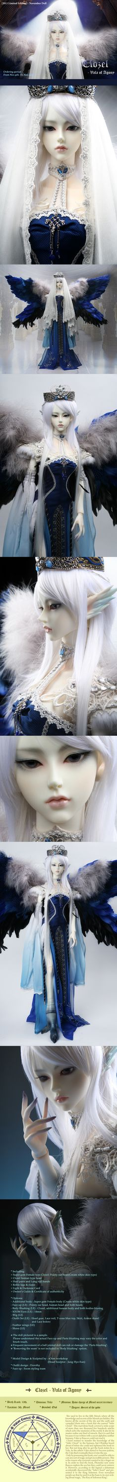 the SOOM emporium #bjd___This doll is absolutely beautiful<3<3<3