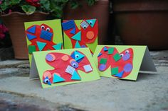 Monster Cards: Exploring shapes with preschoolers