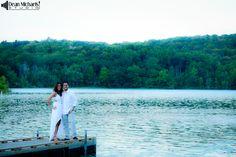 Laura & Joe's August 2014 #engagement #portrait at the NJ Skylands Botanical Gardens and Surprise Lake! (photo by deanmichaelstudio.com) #njengagement #engaged #love #summer #photography #deanmichaelstudio