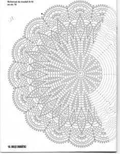 Use this pattern to make a Shaw, crochet on!use sports weight yarn or baby yarn. crochet doily by jest z 3 Poisk This Pin was discovered by Joa jacket, vest, or shawl Motif Mandala Crochet, Crochet Doily Diagram, Crochet Circles, Crochet Stitches Patterns, Crochet Round, Crochet Chart, Thread Crochet, Filet Crochet, Irish Crochet
