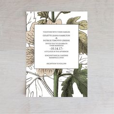Wedding Invitation Template, Vintage Inspired Floral Wedding Invitation, Wedding Printable, Wedding Invite Template, PDF Instant Download