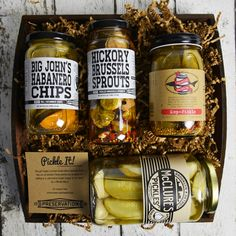Pickle Gift Basket | FOODERZ | Pinterest | Pickling