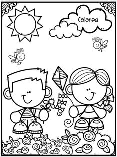 Space Party, Colouring Pages, Atv, Snoopy, Clip Art, Black And White, Education, Drawings, Spring