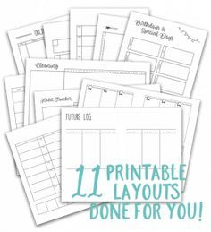 Don't miss this game-changing bullet journal guide that teaches you step-by-step how to create a personalized planning system that actually works!