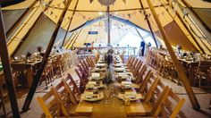 We're Derbyshire's friendly, experienced and award winning providers of utterly gorgeous and distinctive giant Tipis for Weddings and special occasions throughout the UK since 2011.