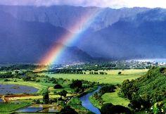Visit Kauai with my husband Will.