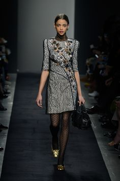 Highlights From Milan Fashion Week Fall 2015  - ELLE.com BOTTEGA VENETA