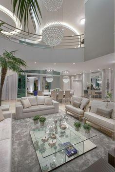 Decor Salteado - Blog de Decoração e Arquitetura : Casa contemporânea com linhas…