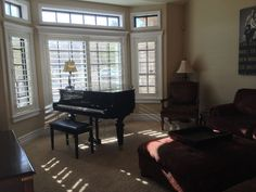 piano in the front sitting room?