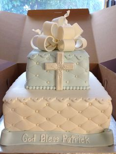 Christing cake