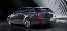 Cadillac CTS Sport Wagon Rendering - third-gen - rear