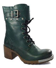82db8058136 Love this Petrol Lask Leather Boot on #zulily! #zulilyfinds Cute Boots, Tall