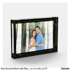 Shop Your Favorite Photo with Thin Gold Frame on Black created by InviteMe_byTW. Painting Concrete, Concrete Lamp, Concrete Design, Stained Concrete, Wedding Picture Frames, Wedding Pictures, Small Cafe Design, Kids Furniture, Furniture Design