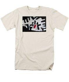 Patrick Francis Cream T-Shirt featuring the painting White Tiger 2014 by Patrick Francis Cream T Shirts, Designer Totes, Tote Bags, Mens Tops, Painting, Shopping, Fashion, Moda, Cream Tees