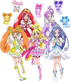 84 best glitter force doki doki images on pinterest magical girl
