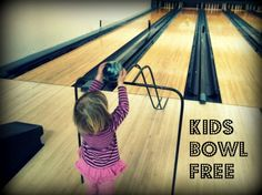 Now you can take in a fun night of family bowling without breaking your budget with the Kids Bowl Free program!