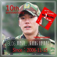 WEBSTA @ just.janghyuk.zoi - 10th anniversary of my blog.☺ ⇒ <http://1janghyuk.blog17.fc2.com/ >  @ajincome . Since:November 15, 2006장혁이를 짓기 시작해서~3653일째私の記念日なんです。 当ブログ、満10歳になりました~(*^▽^)/★*☆♪ 2006年11月15日 ブログの1ページ目を綴った日。___ zoi.(조이)あ、もう日付変わっちゃってますね ^^