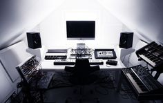 Studio august 2011-2 by nilspils73, via Flickr