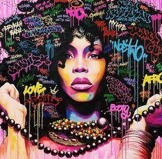 Darumbinichblank.de I 10 Künstler, die dich zum Kunstliebhaber werden lassen! NoeTwo ist ein grossartiger Künstler,welcher der Grafitti Szene Frankreichs entsprang
