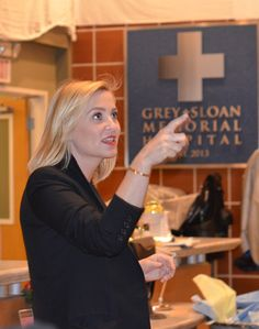 On The Set Of Grey's Anatomy Part One With Jessica Capshaw (#ABCTVEvent)  #GreysAnatomy