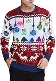Ugly Christmas Sweater - Ideas that Win all the Ugly Sweater Contests Cheap Christmas Sweaters, Reindeer Christmas Jumper, Wedding Flower Girl Dresses, Wedding Dresses With Straps, Ugly Sweater Contest, Girls Christmas Dresses, Xmas Party, Long Sweaters, Mens Sweatshirts