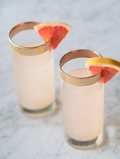 Grapefruit & Gin Cocktail #nye