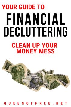 Check this out! It's a guide to Financial Decluttering. Discover how to get started and the most effective stategies for success! Budgeting Finances, Budgeting Tips, Ways To Save Money, Money Tips, Mo Money, Money Budget, Money Saving Mom, Finance Organization, Family Budget