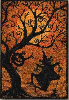 Punch Needle Pattern, Moondance, Teresa Kogut, Punch Needle Embroidery, Pattern Only - The Farmer's Attic