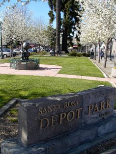 Santa Rosa, California ♥ So different from the 1960's where our parent's took us during the good times