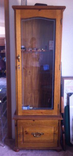 Sweet Pickins gun cabinet transformation | diy projects ...