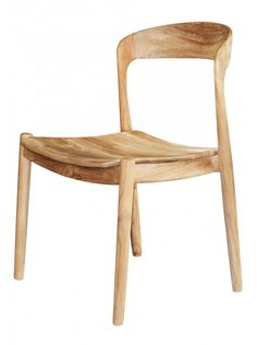 Ingrid Side Chair in Teak by Selamat Designs Teak Dining Chairs, Eames Chairs, Bar Chairs, Table And Chairs, Side Chairs, Dining Table, Dining Nook, Kitchen Chairs, Office Chairs