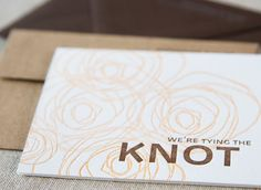 5 Noteworthy Sources For Letterpress Wedding Invites