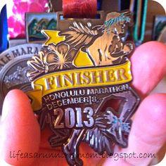 honolulu marathon medal - Google Search