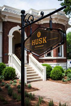 Husk Restaurant, Nashville, Tennessee.   Photo Credit: Andrea Behrends.