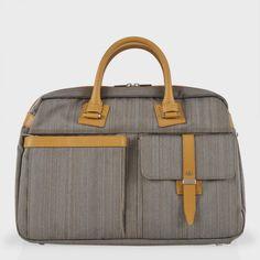 Paul Smith Grey Boston Shoulder Bag 40
