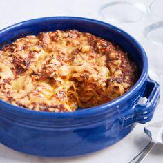 Italiensk kycklinglasagne med pesto - Recept - Tasteline.com
