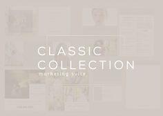 Classic Marketing Set by Seasalt & Co. on Creative Market