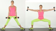 Sumo Squat With Side-Arm Raises8