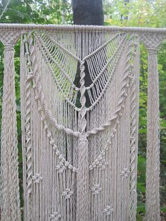 Large Macrame wall hanging - Tapestry macrame - Wall art - Wall decor - Modern macrame -Weaving - Woven wall hanging - Boho - Living room decor - Bohemian decor This large macrame wall hanging is beautiful addition to any interior - home or office, or perfect gift for your family, friends