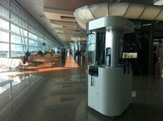 Multifunctional kiosk by PARTTEAM & OEMKIOSKS at the #Airport. See more at www.oemkiosks.com