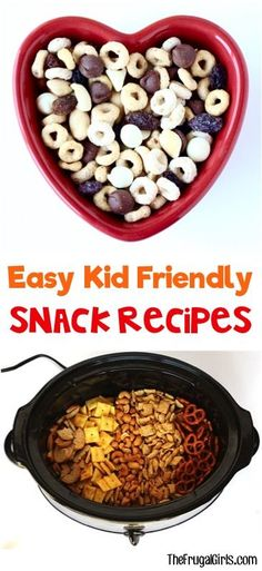 11 Easy Kid Friendly Snack Recipes! ~ from TheFrugalGirls.com ~ satisfy those snack attacks for the kids with these yummy recipes!